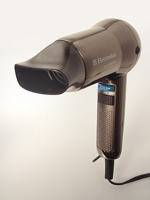 Hair dryer - Modern hair dryer