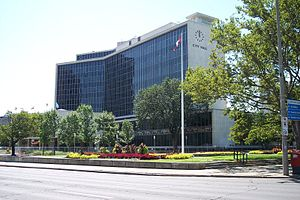 Hamilton City Hall - Hamilton City Hall (summer 2006)
