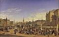 Hansen Udsigt fra Gammel Strand mod Christiansborg 1868.jpg