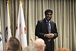 Harjit Saijan, Minister of Defence, at NORAD, Colorado, 160120-VT441-045 (24401760392).jpg
