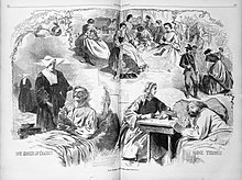 National association of army nurses of the civil war wikipedia harpers magazine illustration of civil war nursesg publicscrutiny Images