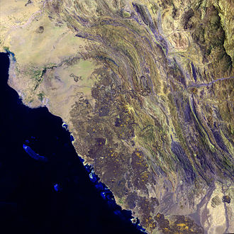 Geography of Saudi Arabia - Harrat al Birk volcanic field.