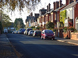Caversham Heights - Image: Harrogate Road, Caversham Heights geograph.org.uk 616927