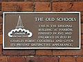Harrow Old Schools brown plaque.jpg