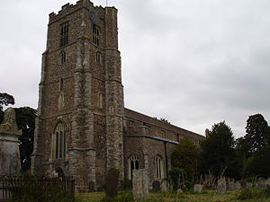 Hatfield Regis Priory - St Mary's parish church, Hatfield Broad Oak, which incorporates parts of the former priory church