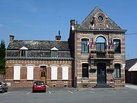 Haulchin (Nord, Fr) mairie.JPG