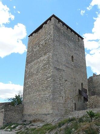 Haza, Province of Burgos - Keep of the castle of Haza