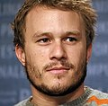 Photo of Heath Ledger at the Berlin International Film Festival in 2006.