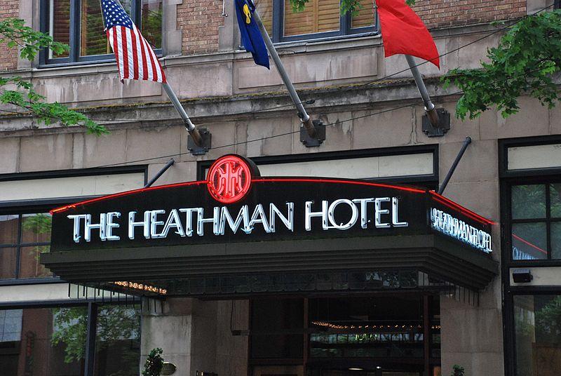 The Heathman Hotel is a dog friendly hotel
