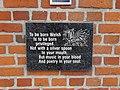 Hedd Wyn Plaque Welsh Memorial Park Ieper (Ypres) Parc Coffa'r Cymry, Gwlad Belg 23.jpg