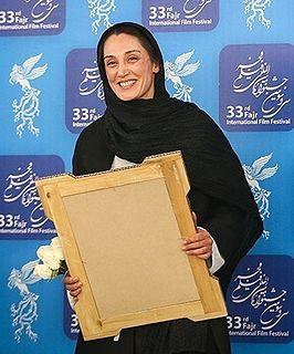 Hedieh Tehrani Iranian actress