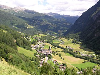 Heiligenblut am Großglockner - View from Glockner road
