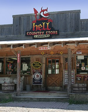 The country store in Hell, Michigan.