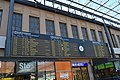 Helsinki railway station platform area timetable.JPG