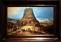 Hendrick van cleve III, costruzione della torre di babele, 1550-80 ca.jpg