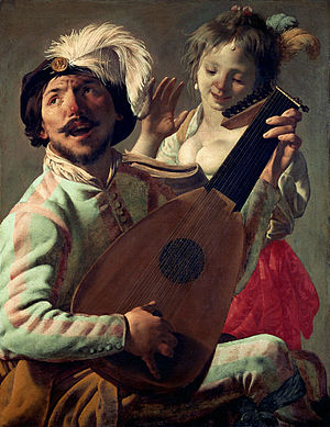 Duet - The Duet (1628), by Hendrick ter Brugghen