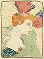Henri de Toulouse-Lautrec - Bust of Mlle. Marcelle Lender (Mlle. Marcelle Lender, en buste) - Google Art Project.jpg