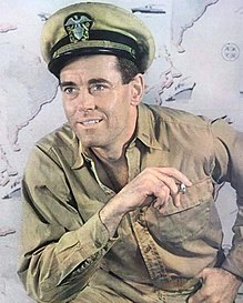 Henry Fonda as Mr. Roberts 1948 (cropped).JPG