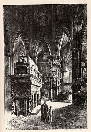 John Waltham - John Waltham's final resting place: Edward the Confessor's Chapel in Westminster Abbey