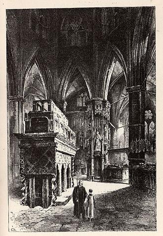 John Waltham - John Waltham's final resting place: Edward the Confessor's Chapel in Westminster Abbey