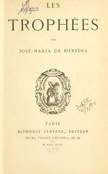 José-Maria de Heredia: Les Trophées