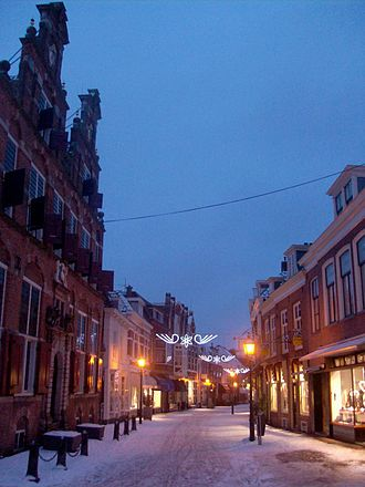 Voorburg - The Herenstraat in the town centre