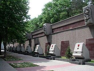 Hero City - Hero City monument at Sevastopol