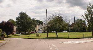 Hertford Heath - Hertford Heath village green viewed from near The Goat public house
