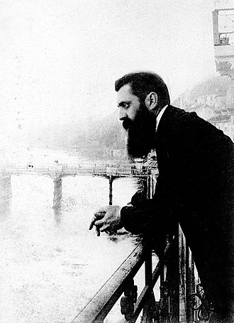 Israeli Jews - Theodor Herzl, visionary of the Jewish State, in 1897.