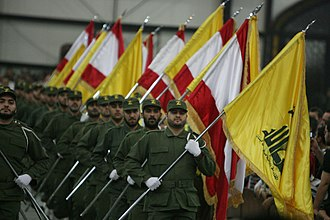 2018 Lebanese general election - Hezbollah parade