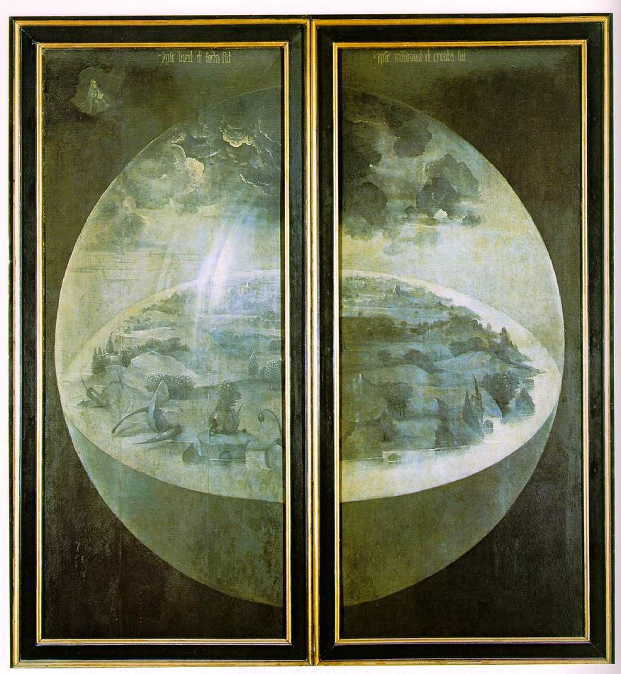 Hieronymus Bosch - The Garden of Earthly Delights - The exterior (shutters)