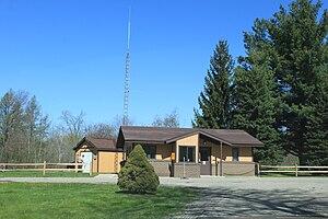 Highland Recreation Area - Image: Higland Recreation Area Michigan park office