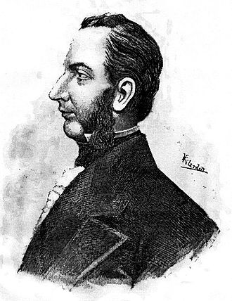 Francisco Morazán - This drawing by Vilardell depicts General Morazán in his late forties.