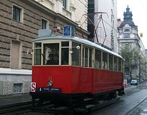 Public transport in Bratislava - Historical tram