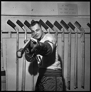 Danny Belisle - With the Vancouver Canucks in 1961