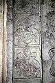 Hoejslev(43)Sydkapel, figursten over Bjørn Kaas og Christence Nielsdatter Rotfeld.JPG