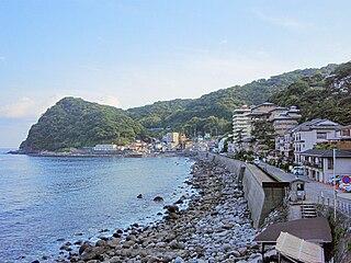 Higashiizu Town in Japan
