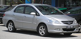 Honda City (fourth generation, first facelift) (front), Serdang.jpg