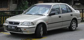 Honda City (third generation) (front), Kajang.jpg