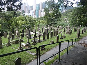 Hong Kong Cemetery - Hong Kong Cemetery in Happy Valley