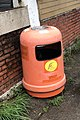 Hong Kong Orange Rubbish Bin Food and Environmental Hygiene Department.jpg