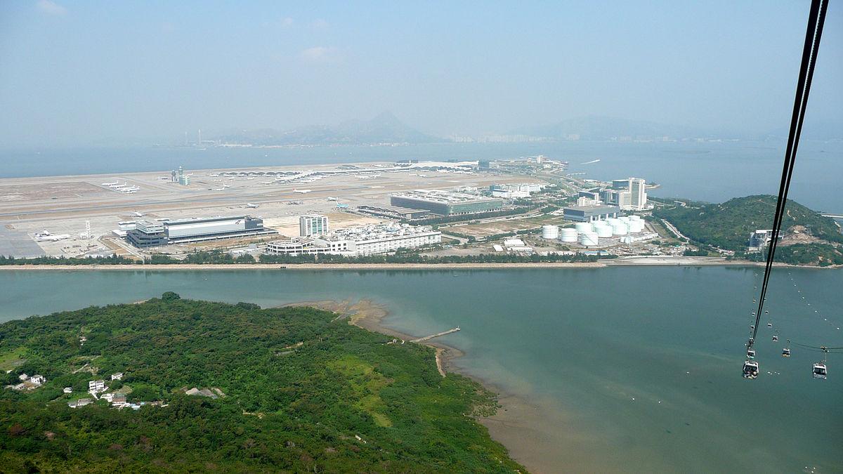 Hong Kong Island Superficie
