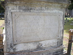 Herman Koeckemann - Tombstone for Bishops Koeckemann and Boeynaems at the Honolulu Catholic Cemetery