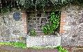 Horse trough, Sampford Courtenay village, Devon.jpg