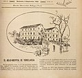 Hospital Torrelavega, published in Cantabria, 8.9.1904, by Mariano Pedrero.jpg