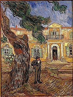 <i>Saint-Paul Asylum, Saint-Rémy</i> (Van Gogh series) Series of paintings by Vincent van Gogh
