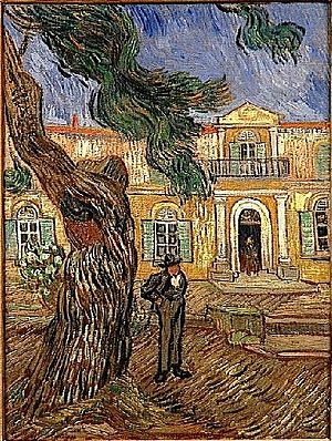 Saint-Paul Asylum, Saint-Rémy (Van Gogh series) - Wikipedia, the free ...