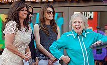 Valerie Bertinelli, Wendie Malick, Jane Leeves, and Betty White in August 2012