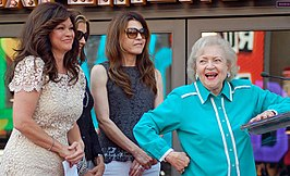Cast van Hot in Cleveland (aug 2012)