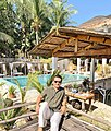 """Hotelier and Twitter Personality Francis """"Frank"""" Baraan IV at his resort, Sirom Beach House.jpg"""